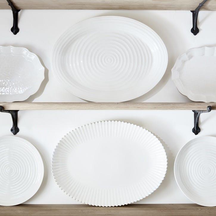 Platter - Large; White