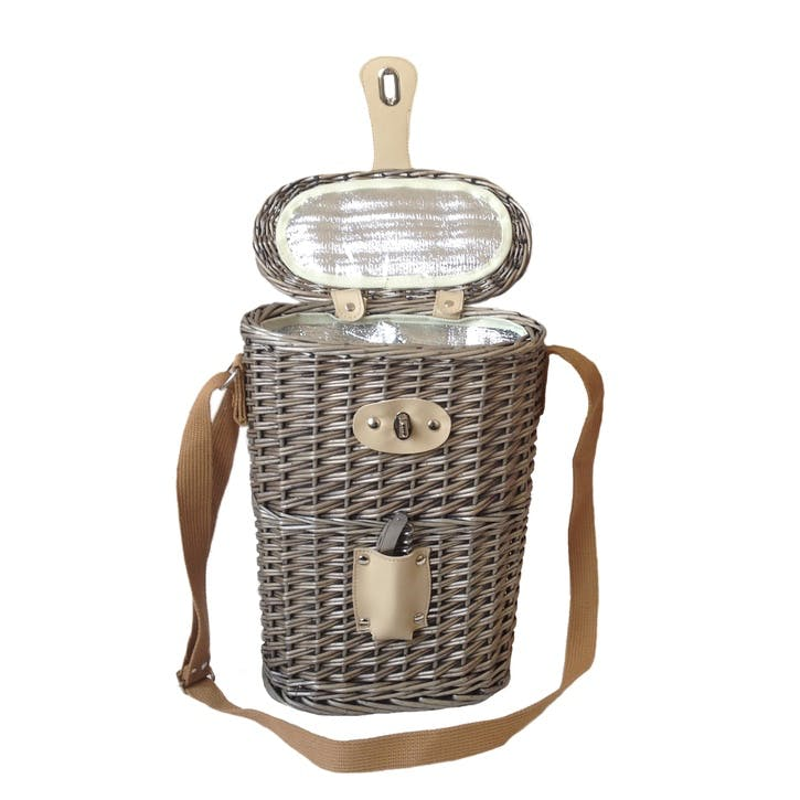 2 Bottle Chilled Carry Basket