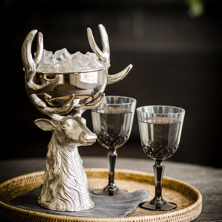 Stag Head Punch Bowl - Extra Small