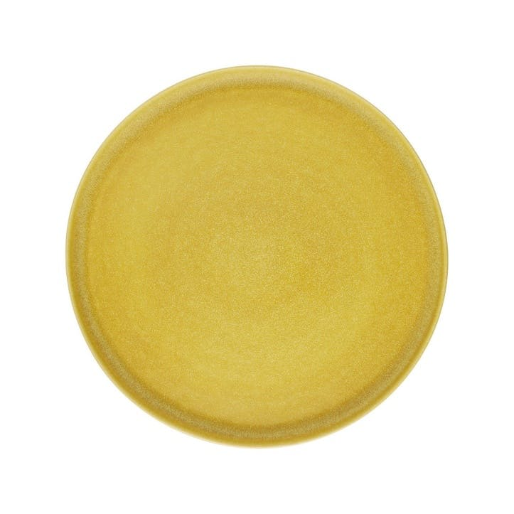 Nona Side Plate, Yellow