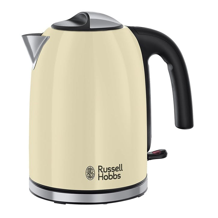 Colours Plus Classic Kettle; Cream