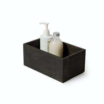 Mezza Storage Box, Dark Oak