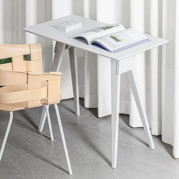 Arco, Side Table, White