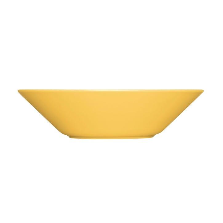 Teema Deep Plate, Honey, 21cm