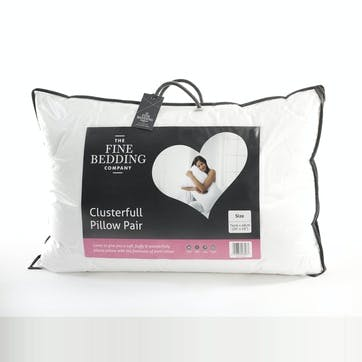 Clusterfull Pillow Pair