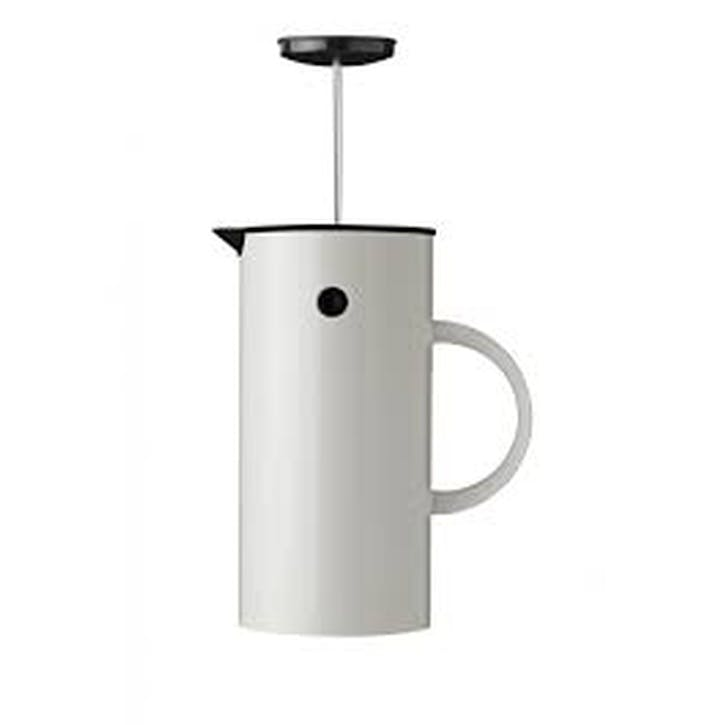EM French Press 1L, White