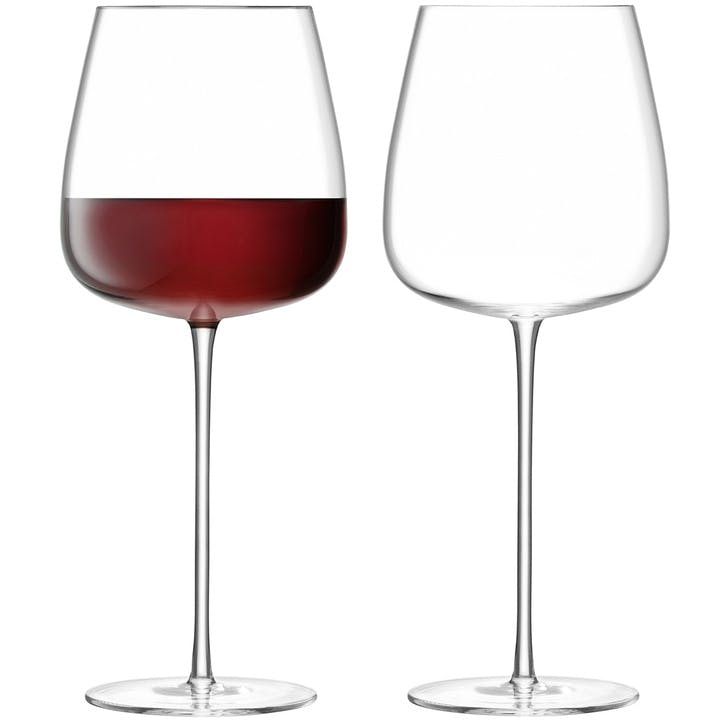 Wine Culture Set of 2 Red Wine Goblets