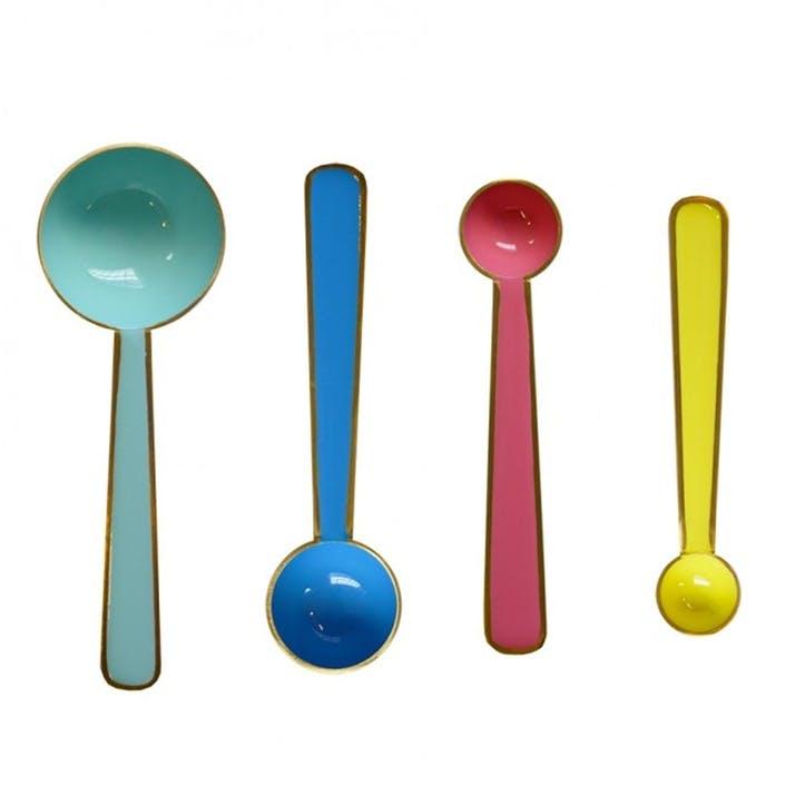 Enamel Measurers, Set of 4, Small