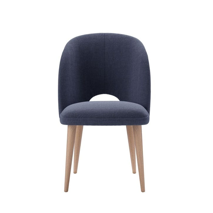 Darcy Dining Chair, Uniform House Plain Weave