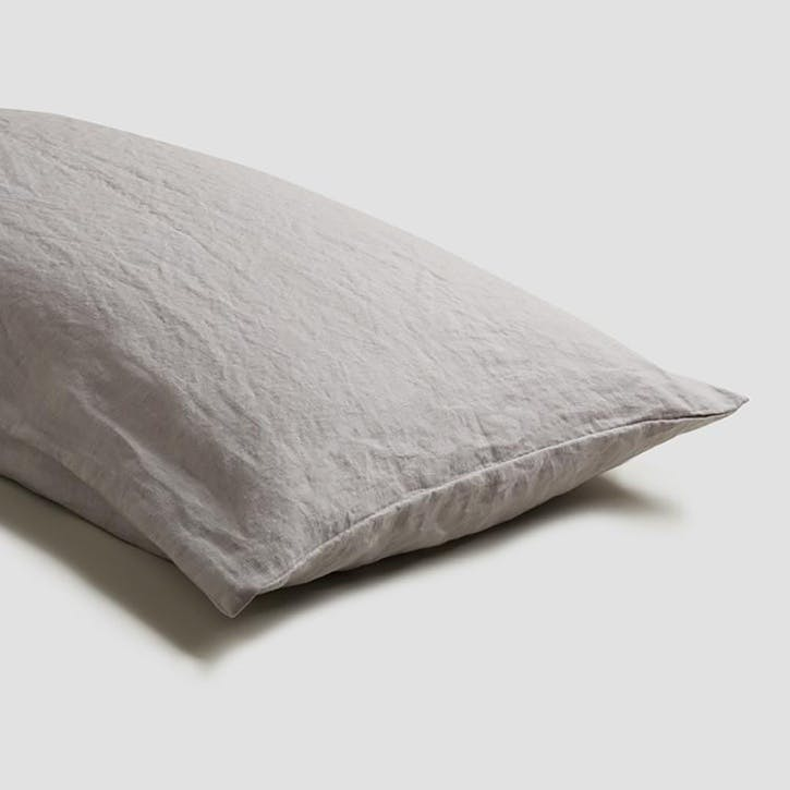 Pair of Standard Pillowcases Dove Grey