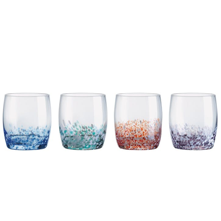 Speckle Tumblers, Set of 4