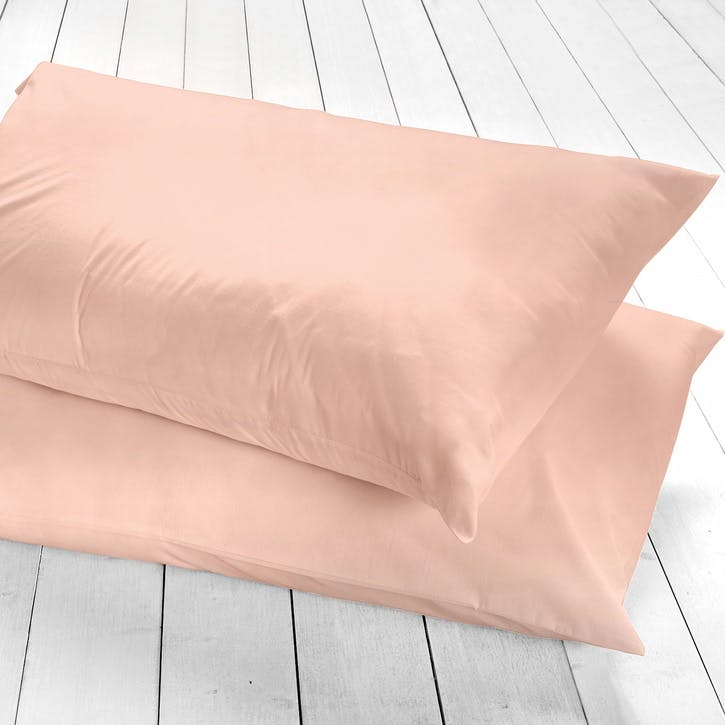 Pure Housewife Pillowcase, Set of 2, Blush