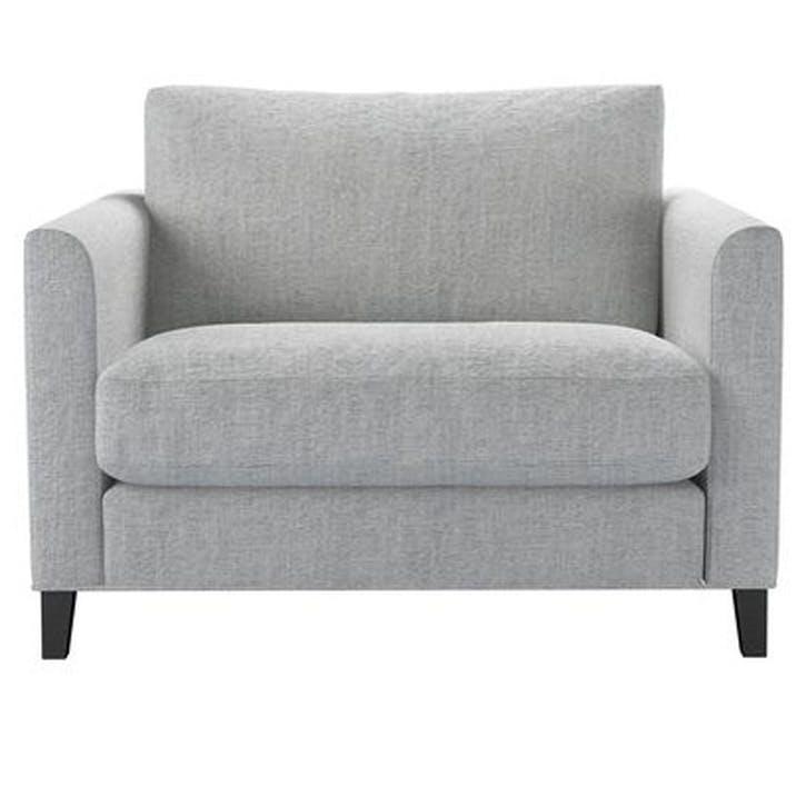 Izzy Love Seat, Koala Chelsea Linen