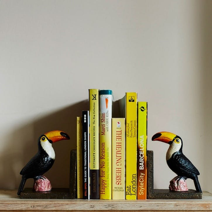 Toucan Bookends