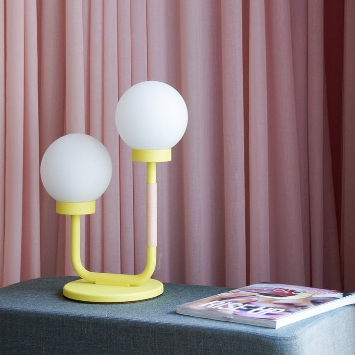 Little Darling, Table Lamp, H47 x W35 x D23cm, Yellow