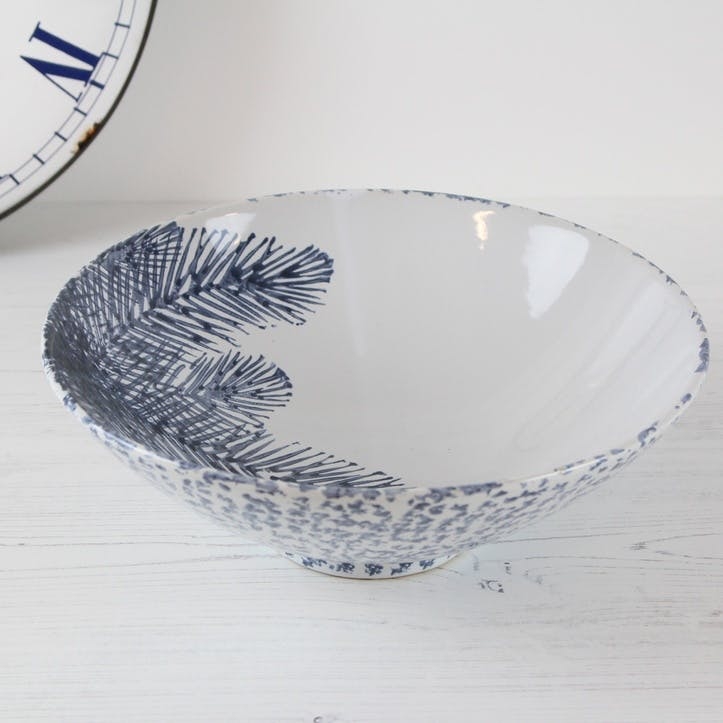 Large Fern Print Bowl
