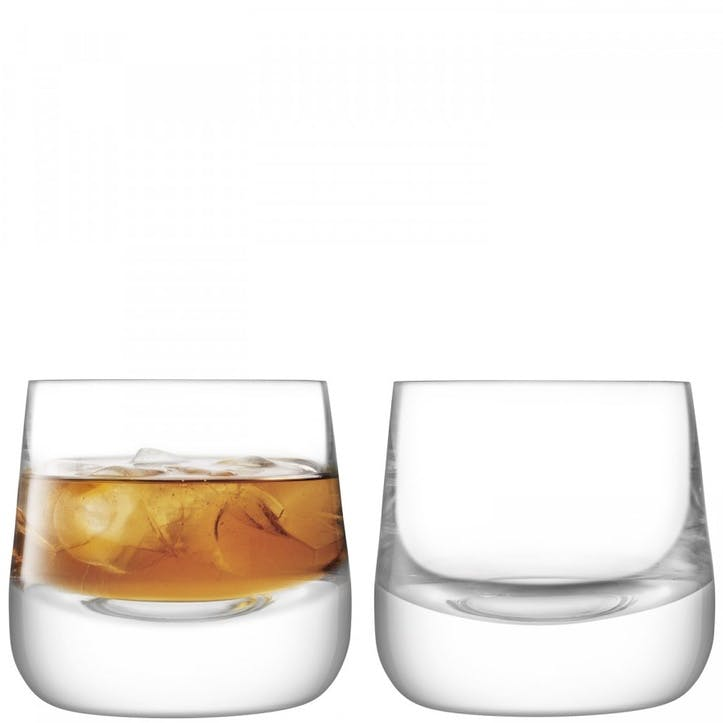 Bar Culture Whiskey Glass Set of 2