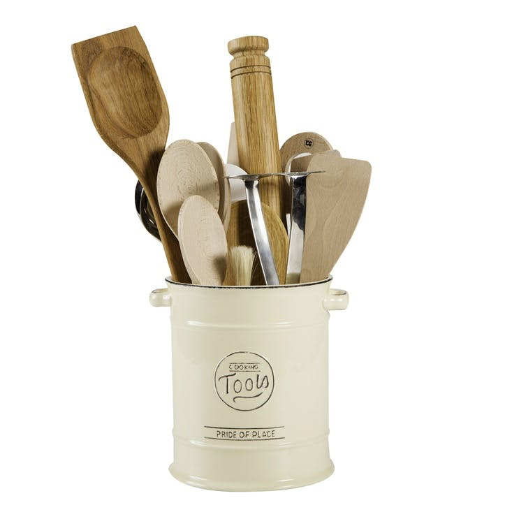 Pride of Place Cooking Tools Jar, Old Cream