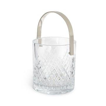 Barwell Cut Crystal, Ice Bucket, Clear