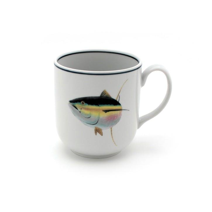 Seaflower Tuna Mug, 10cm, Multi