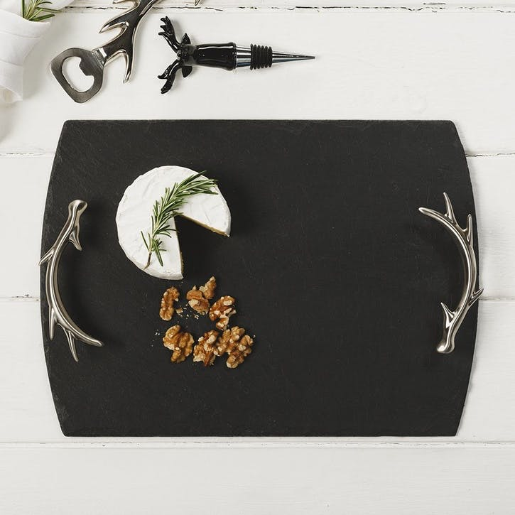 Antler Handle Tray, Medium