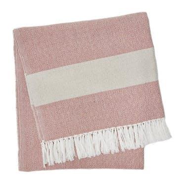 Hammam Blanket, 2 x 1m, Coral