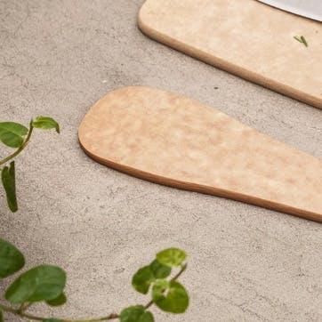 Paddle, Large, Natural Wood Pulp