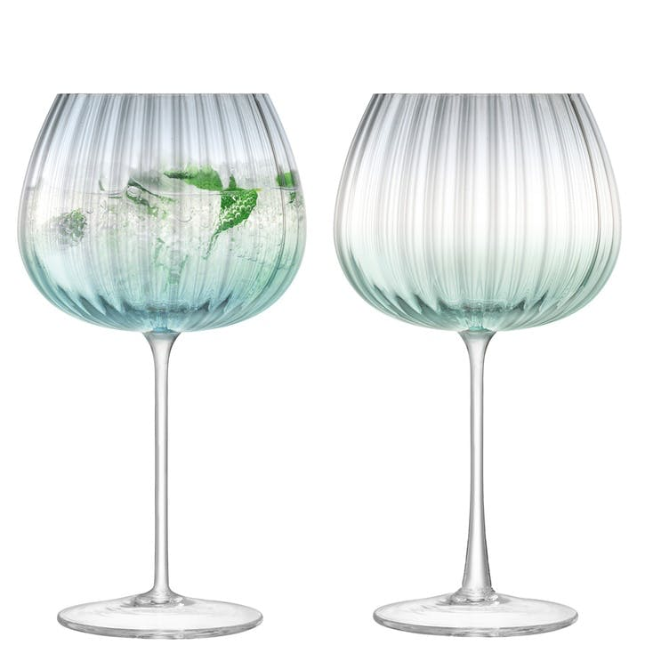 Dusk Goblet, Set of 2, Green