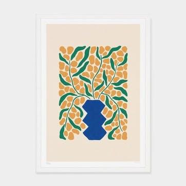 Liv Lee, Wattle Art Print, Unframed, A2