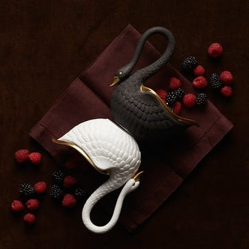 Swan Bowl, Black