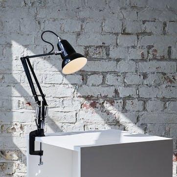 Original 1227 Mini Lamp with Desk Clamp, Jet Black