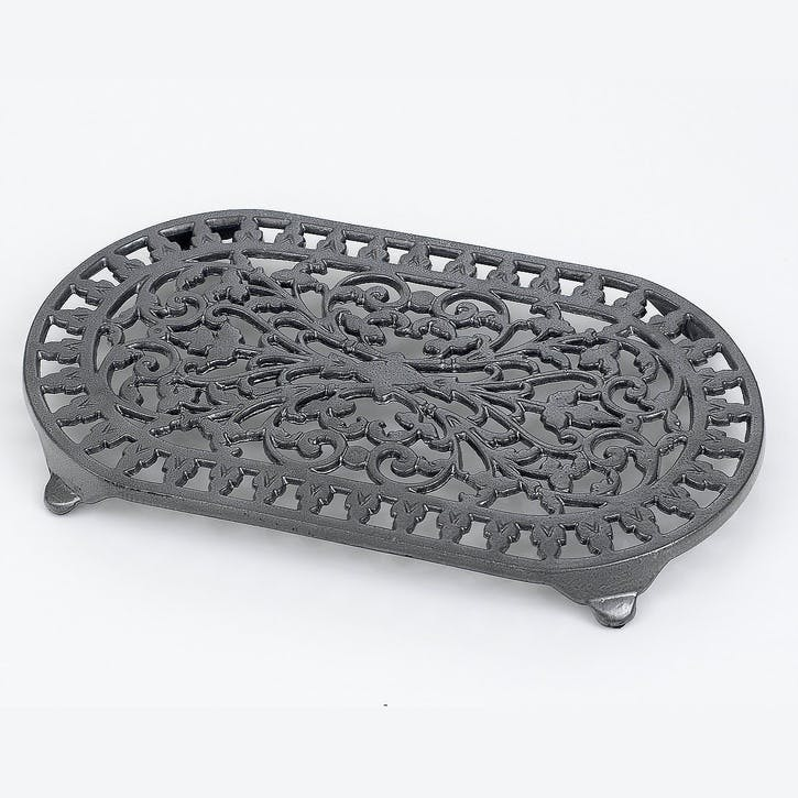 Cast Iron Trivet, Graphite