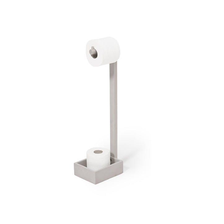 Mezza Freestanding Roll Holder, Oyster