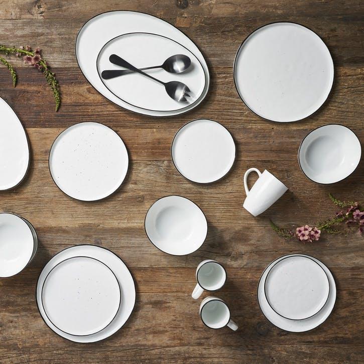 Serenity Oval Serving Platter, Large