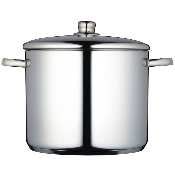 Stockpot, 14 litre, Stainless Steel
