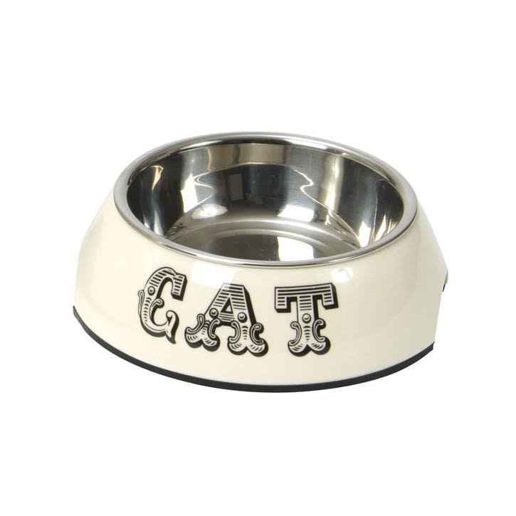 House of Paws Country Kitchen Cat Bowl; Cream