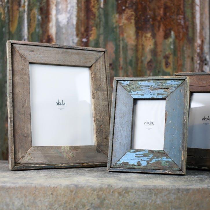 Malu Reclaimed Wood Frame - Large