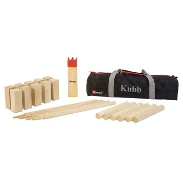 Kubb Game, 30cm, Natural