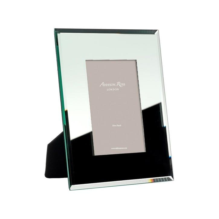 "Bevel Mirror 8mm Photo Frame - 4""x6"""