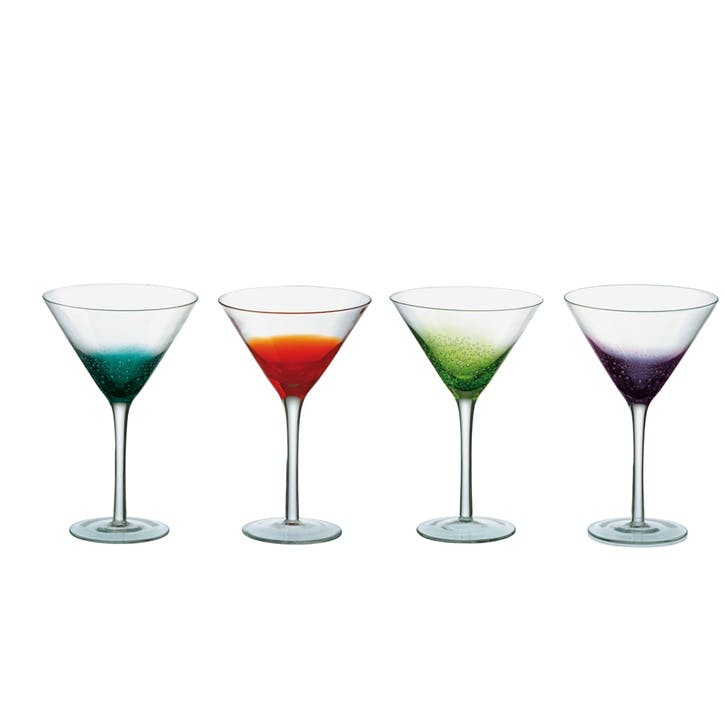 Fizz Set of 4 Cocktail Glasses