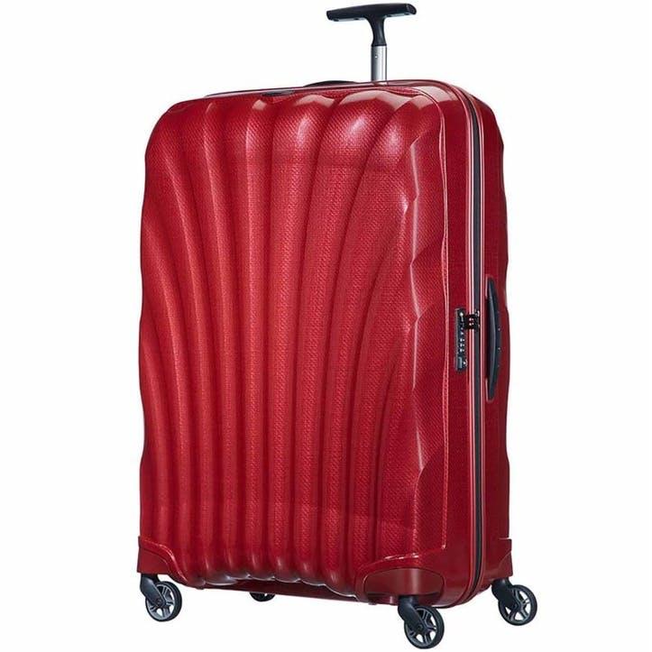 Cosmolite Spinner Suitcase, 81cm, Red