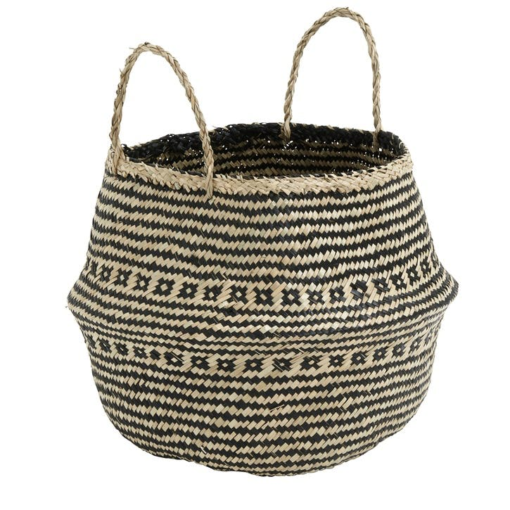 Seagrass Belly Basket, Medium