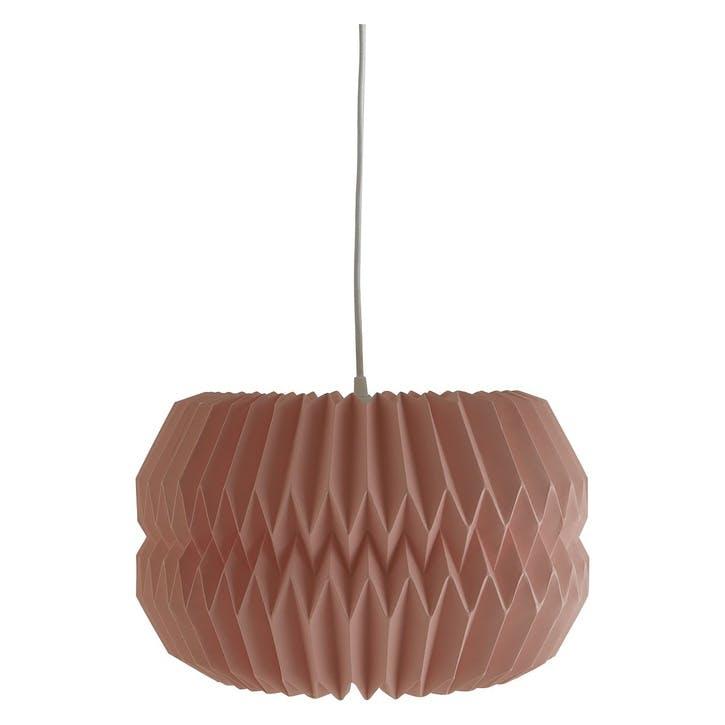 Kura Paper Origami Lampshade, Large, Pink