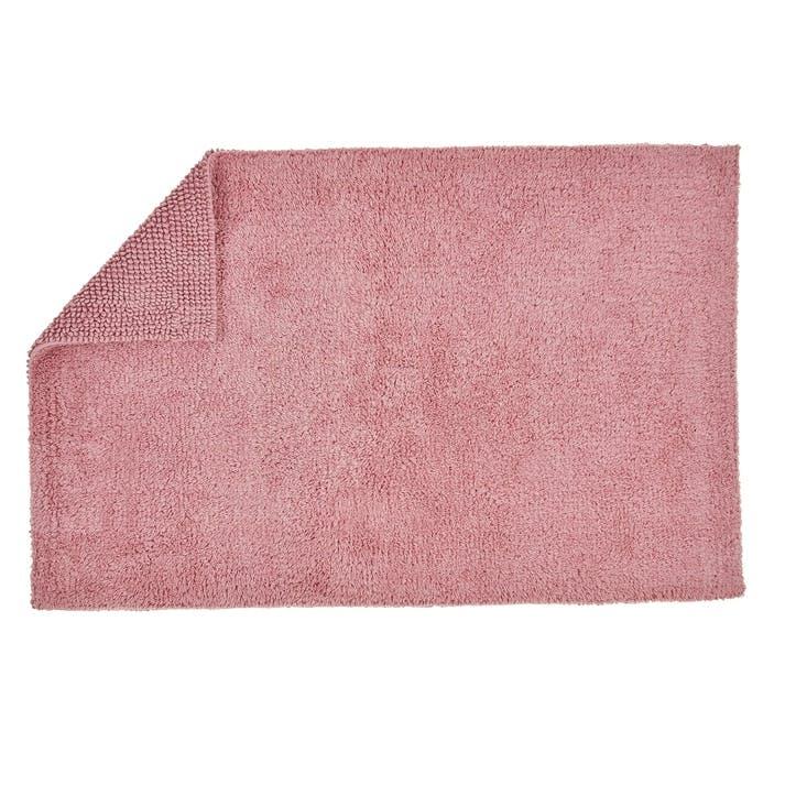 Reversible Bath Mat, Blush
