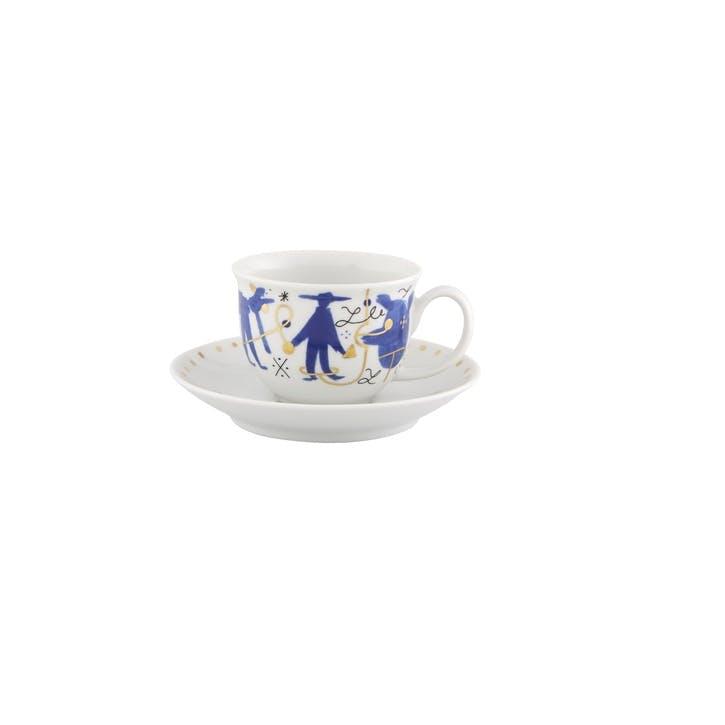 Folkifunki Coffee Cup & Saucer