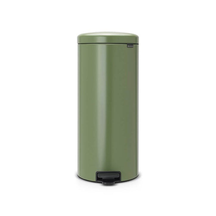 NewIcon Pedal Bin, 30L, Moss Green