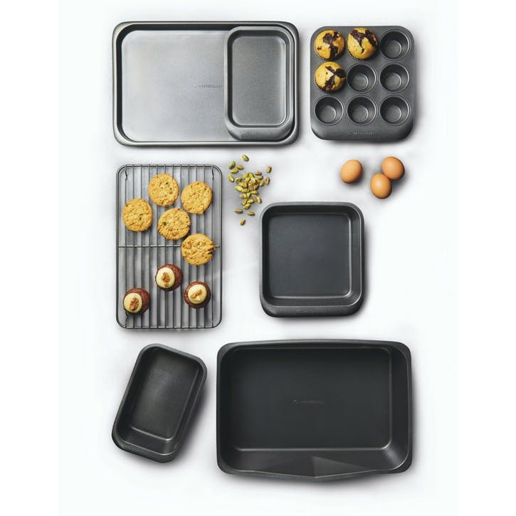 Stackable Baking Set, 7 Pieces