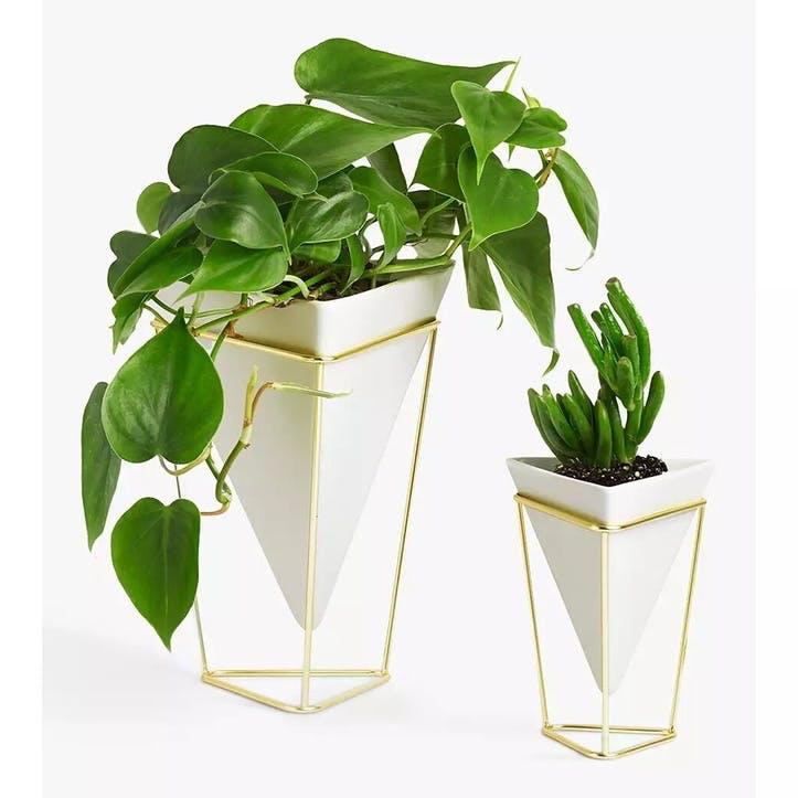 Trigg Vase, Set of Two, White