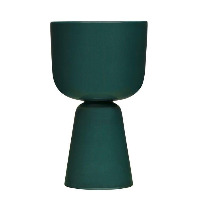 Nappula Plant Pot, Dark Green, Large