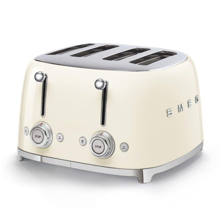 4 By 4 Toaster, Cream